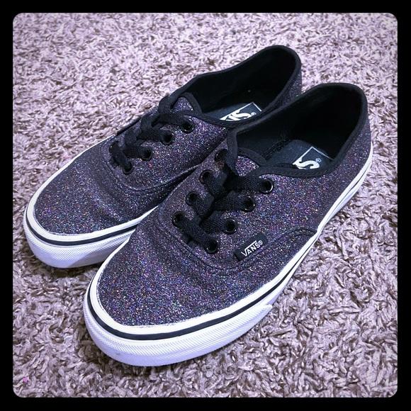 Vans Shoes   Glitter Size 35 Boys 5